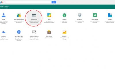 Quittungen von Google Apps herunterladen