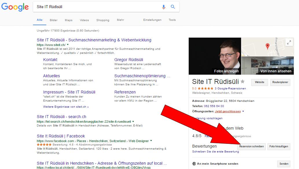 Unternehmen Auf Google Bewerten Einfache Anleitung