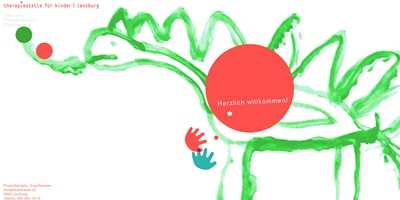 Webseite von Therapiestelle für Kinder in Lenzburg