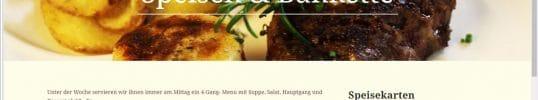 Restaurant-Webseite gueggel.ch