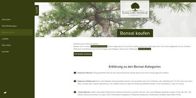 Exklusiv Bonsai