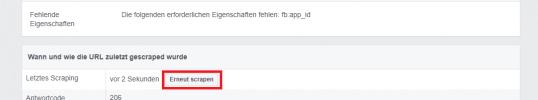 Facebook Debugger (Sharing-Debugger)