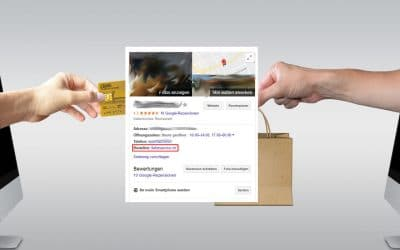 Reservationen & Bestellungen via Google My Business / Knowledge-Graph