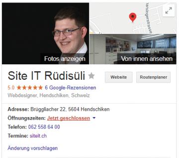 Online Präsenz mit Google My Business