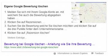 Online Präsenz mit Position 0 bei Google
