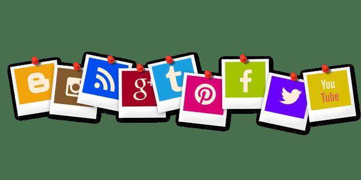 Online Präsenz Soziale Medien