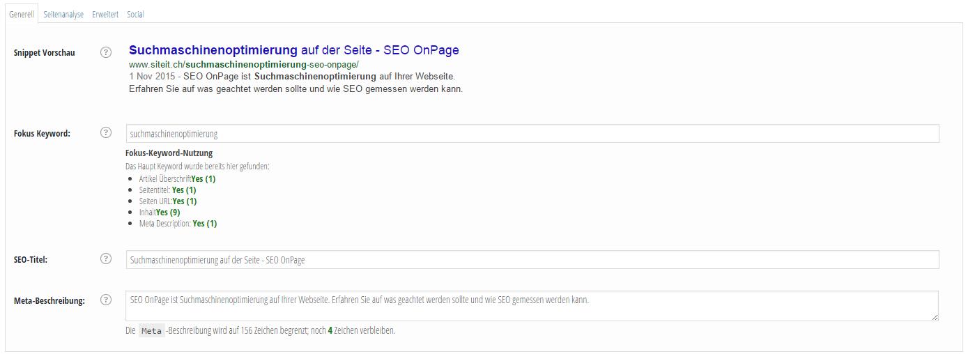 SEO Meta-Tags