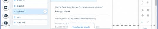 Title-Tag und Meta-Description für Wix-Webseiten Anpassen