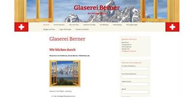 Webseite erstellen für glasereiberner.ch in Niederlenz