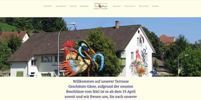 Webseite erstellen für Restaurant Güggel in Dottikon
