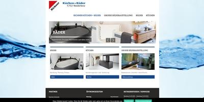 Webseite erstellt von Richner Küchen + Bäder in Niederlenz