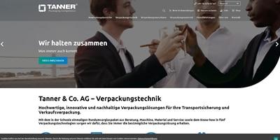 Webseite mit konzipiert