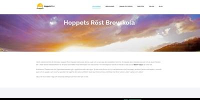 Schwedische Webseite von Hoppetsroest